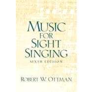 Music for Sightsinging,9780131826625