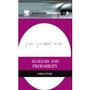 Analysis and Probability,9780124016651