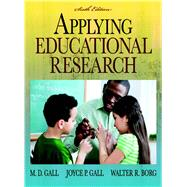 Applying Educational Research : How to Read, Do, and Use Research to Solve Problems of Practice