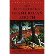 Literature of the American South : A Norton Anthology,9780393316711