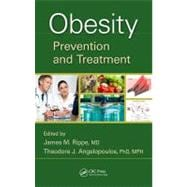 Obesity: Prevention and Treatment,9781439836712