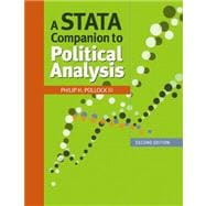 A Stata Companion to Political Analysis,9781608716715
