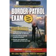 Border Patrol Exam,9781576856727
