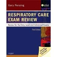Respiratory Care Exam Review: Review for the Entry Level and Advanced Exams (Book with Access Code),9781437706741