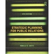 Strategic Planning for Public Relations,9780415506762