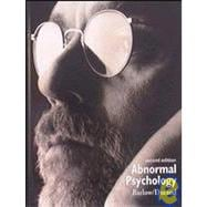 ABNORMAL PSYCHOLOGY: INTEGRATIVE APPR W/INFOTRAC & CD
