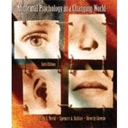 Abnormal Psychology In A Changing World (Book with CD-ROM),9780131916784