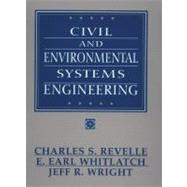 Civil and Environmental Systems Engineering,9780131386785