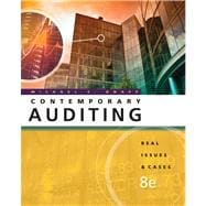 Contemporary Auditing : Real Issues and Cases
