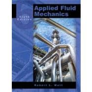 Applied Fluid Mechanics, 9780131146808