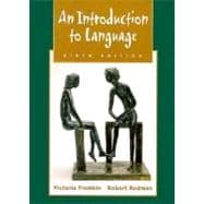 An Introduction to Language,9780030186820