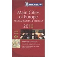 Michelin Red Guide 2010 Main Cities of Europe Restaurants & ..., 9782067146822  
