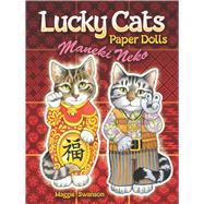 Lucky Cats Paper Dolls : Maneki Neko, 9780486486826