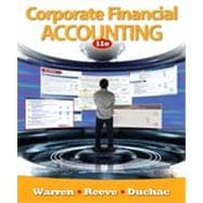 Corporate Financial Accounting, 11th Edition,9781133456834