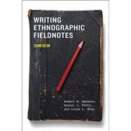Writing Ethnographic Fieldnotes,9780226206837