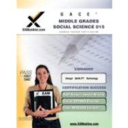 GACE Middle Grades Social Science 015: Teacher Certification..., 9781581976861  