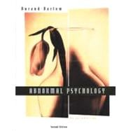 Abnormal Psychology An Introduction (Paperbound with CD-ROM)