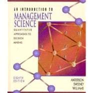 Introduction to Management Science: Quantitative Approaches to Decision Making,9780314096876