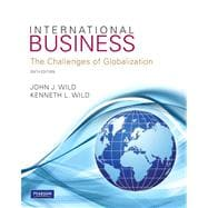 International Business Plus MyIBLab with Pearson eText -- Access Card Package