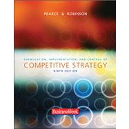 Formulation, Implementation, and Control of Competitive Strategy,9780072946888