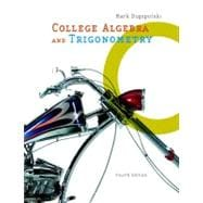 College Algebra and Trigonometry,9780321356925
