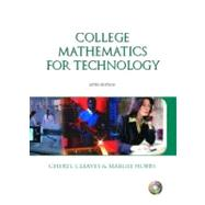 College Math for Technology and Premium Companion Website Access Code Card Package