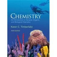 Chemistry: INTRO GEN ORG, BIO & MSTRG CRD PKG,9780321566935
