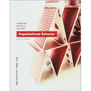 Organizational Behavior With Infotrac: Foundations, Realities, and Challenges (Book with CD-ROM)