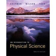 An Introduction to Physical Science,9780618926961