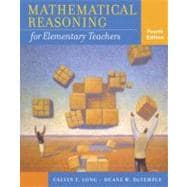 Mathematical Reasoning for Elementary Teachers,9780321286963