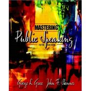 Mastering Public Speaking with CD-ROM,9780205406968