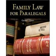 Family Law for Paralegals,9780073376974