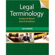 Legal Terminology 2014 Update