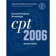 CPT 2006: Current Procedural Terminology; Standard Edition