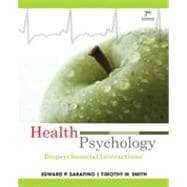 Health Psychology: Biopsychosocial Interactions, 7th Edition,9780470646984
