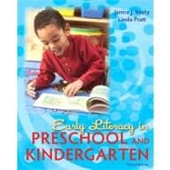 Early Literacy in Preschool and Kindergarten,9780137056989