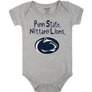 Penn State Nittany Lions Infant Grey Little One Creeper