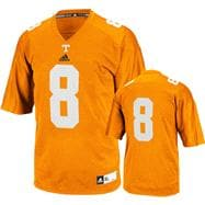 Tennessee Volunteers adidas 2012 Tenn Orange Kids 4-7 Replica Football Jersey