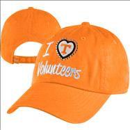 Tennessee Volunteers Women's Tn Orange Lovin' It Washed Stretch Fit Hat