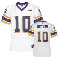 LSU Tigers Youth Purple Stadium Football Jersey