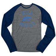 UCLA Bruins Navy adidas Originals Gym Class Tri-Blend Long Sleeve Tee
