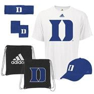 Duke Blue Devils adidas Pick-Up Game 5-PC Combo Pack