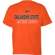 Oklahoma State Cowboys Orange Cross Country T-Shirt
