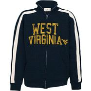 West Virginia Mountaineers Youth Midnight Track Jacket