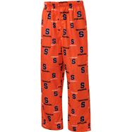 Syracuse Orange Youth Orange Team Logo Printed Pants