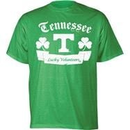 Tennessee Volunteers Kelly Green Lucky Banner T-Shirt