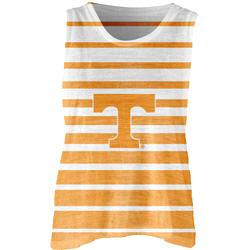 Tennessee Volunteers Women's Burnout Striped Tank Top