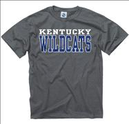 Kentucky Wildcats Charcoal Straight Line T-Shirt