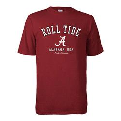 Alabama Crimson Tide Hometown Made in America T-Shirt - Crimson