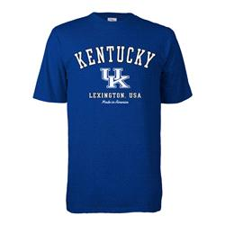 Kentucky Wildcats Hometown Made in America T-Shirt - Royal